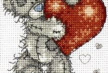 Cross Stitch and Felt