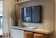 Living room ideas / Tv area