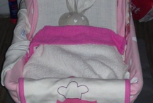 Luiertaarten en andere geboortekado's / Een origineel cadeau voor een kraamfeest of geboorte