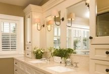 bathroom updates / by Connie Giangrosso