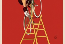 Old bicycle posters