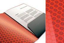Carpetas o estuches / O de como meter cosas que les quieres dar a los demás, hecho en papel, of course. Carpetas troqueladas con solapas o formato díptico. Indispensables para juntar papeles, aunque sean pocos.