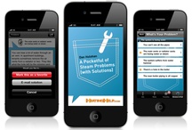 """""""A Pocketful of Steam"""" app / Concept, design, and implementation/coding (Objective-C/Cocoa Touch/SQLite 3) for """"A Pocketful of Steam Problems (with Solutions)"""" iPhone app for HeatingHelp.com."""