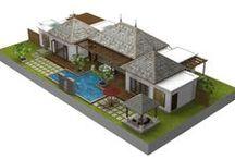 back side bali house