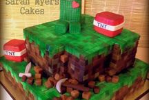 Ideas for a Minecraft cake