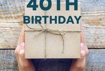 40th presents