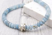 March Birthstone Jewellery / Aquamarine gorgeousness for March babies.