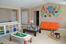 Garage/ playroom