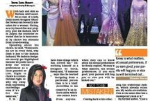 Bold and Beautiful designer Sikandar Nawaz embraces Royal Rajasthan Pink city gives Designer warm Welcome as DNA NO.1 English Daily Features Editorial and his Interview Today.