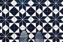 colours and shapes / Colorful Tiles with Beautiful Shapes
