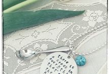 Courage Spoon / Hand made jewelry inspired by the Spoon Theory to give courage those who need it. Just keep believing, miracles do happen!