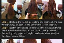 Cute Girls Hairstyles / Hair