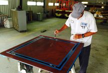 Boat Repairs and Refinishes / New boat and yacht paint, refinishes, and repairs.