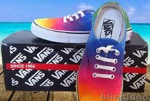 BlingLogo Custom Vans Shoes / Hand Painted Custom Vans Shoes