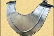 Armadura para mujer. Lady armor / Armadura medieval de acero especialmente apta para mujeres.