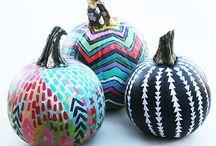 HOLIDAYS ¤ Fall ¤ Painted Pumpkins