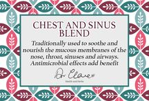 Dr. Clare liquid tincture blends