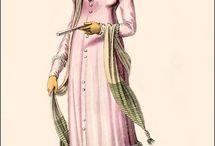 1800-1820 Regency - Colored, Unprinted Cotton