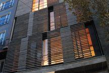 Fachadas em madeira