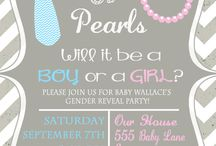 Ties and Pearls Gender Reveal Party's!!  / If I ever have any more kids, I'm so doing a Ties and Pearls Gender Reveal Party! :)  / by ღ αℓєχαи∂яια ღ