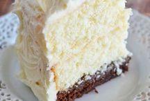 Gâteaux et patisseries