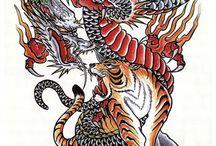 タトゥーデザイン画