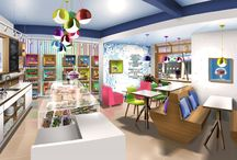 Stores and boutiques design by moodesign / Designer d'intérieur projets design commercial Boutiques design  Retail shops design