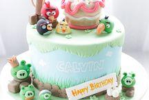 angry birds cake's