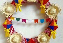 Decoração - Festa Junina.