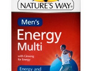 Energy Vitamins for Men / by Bruce Conley