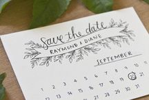 Save the Dates / Interesting Save the Date ideas.