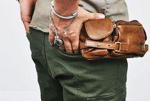 man's bags