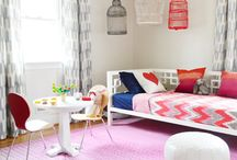 House- girl bedroom  / by Brittany Morton