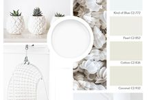 Color Boards / Mood boards featuring on trend paint colors and inspiration for painting your home.  / by C2 Paint