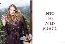 into the wild mood / photography DIMITRI BURTSEV | production FMD | fashion editor IVA MIRBACH | art director MIKE YORK | makeup ADRIANA HOLBAN & SABINA RETTENBACHER hair DANI CORNEA & EVELIN KARBACH | models KRISTINA S. & SARKA L. & JACQUELIN S.