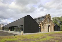 UK: National Conservation Centre in Stirling / National Conservation Centre (THE ENGINE SHED), Stirling (UK) by Historic Scotland  Installer : Vaganay, Solaize, Copyright, Paul Kozlowski