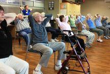 OT geriatric posture exercise