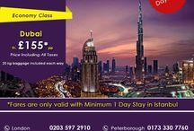 Dubai Airfare Fr £155 pp