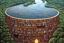 Jacek Yerka / Polish surrealist painter from Toruń. Yerka's work has been exhibited in Poland, Germany, Monaco, France, and the United States, and may be found in the museums of Poland.
