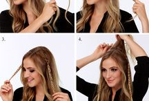 diy hair ♥