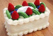 Amigurumi cake