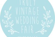 Truly Vintage Wedding Fair / Glemham Hall hosts the annual Truly Vintage Wedding Fair every June. 30+ vintage wedding suppliers dedicated to helping you plan your perfect vintage style wedding. Sunday 7th June 2015 - Open 10am-5pm