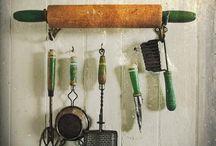 Keittiöantiikki, kitchen items
