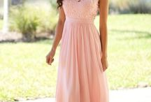 - Wedding, Bridesmaid's Dresses