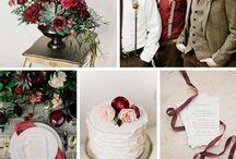 Ślubne Inspiracje: MARSALA - Kolor Roku 2015