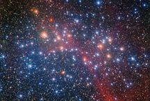 Galaxy, Nebula, Planets, Space