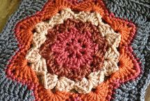 Crochet squares, hexagons, circles , join as you go, join later patterns