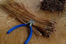 Making of our Pine Needle Baskets