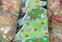 Malen Weihnachtsmotive