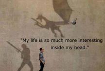 Daydreaming / I am a daydreamer...
